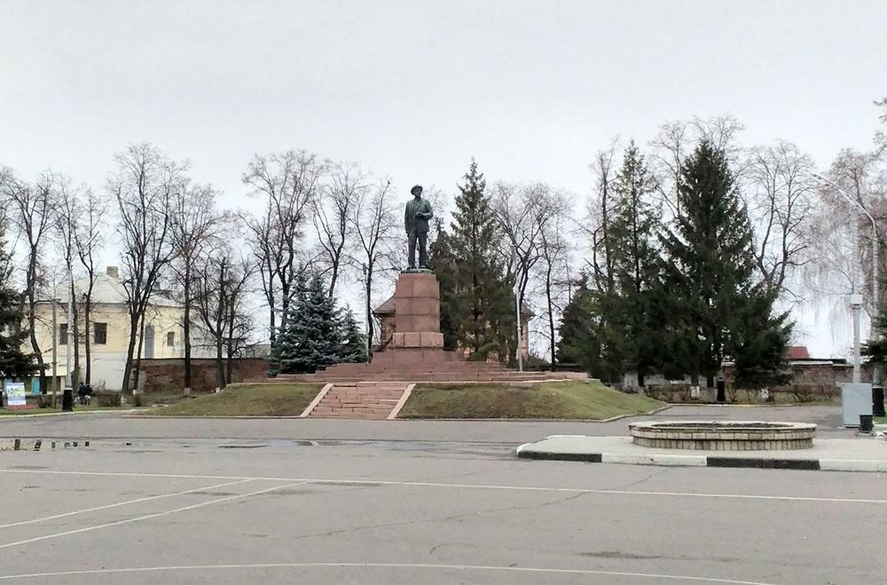 г. Мичуринск, памятник Мичурину И.В.